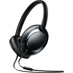 Headphone Philips Headband On Ear C/ Microfone SHL4805DC/00 Preto