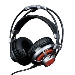 Headset ELG Gamer 7.1 Surround Channel C/ Microfone - Led Laranja - Cabo 2,2 Metros - HGSS71