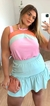 Imagem do Conjunto shorts saia Candy Colors Ice Cream