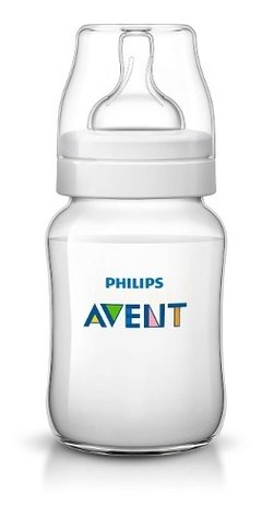 Set 3 Mamaderas Avent Philips Classic De 260 Ml