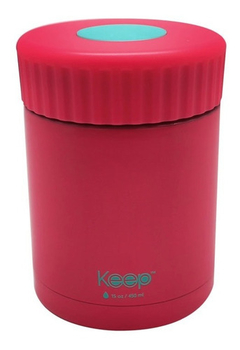 Lunchera Keep Vianda Termica Conservadora Escolar 450 Ml Acero - Cooking Store