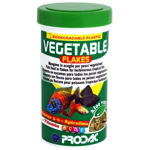 Ração Prodac Vegetable Flackes 50g