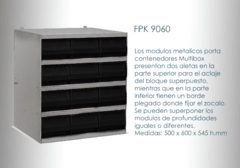 Modulo Apilable Multibox FPK 9060 Con Gavetas RK6016 en internet