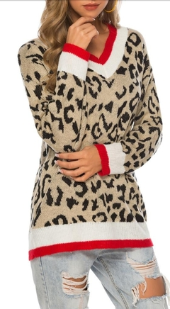 Tricot animal print - comprar online