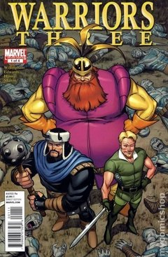Warriors Three (2010 Marvel) #1
