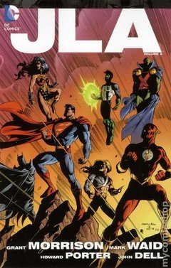 JLA TPB (2011-2016 DC) Deluxe Edition #3-1ST