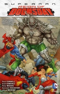 Superman Reign of Doomsday TPB (2013 DC) #1-1ST