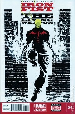 Iron Fist The Living Weapon (2014) #4