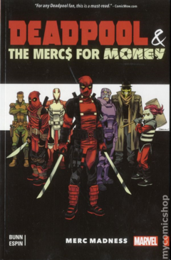 Deadpool and the Mercs For Money TPB (2016 Marvel) #0-1ST