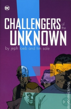 Challengers of the Unknown HC (2018 DC) By Jeph Loeb and Tim Sale #1-1ST