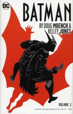 Batman HC (2014 DC) By Doug Moench and Kelley Jones #2-1ST
