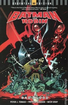 Batman and Robin Bad Blood TPB (2018 DC) Essential Edition