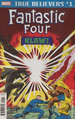 True Believers Fantastic Four Klaw (2018) #1