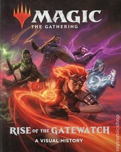 Magic The Gathering Rise of the Gatewatch HC (2019 Abrams ComicArts) A Visual History #1