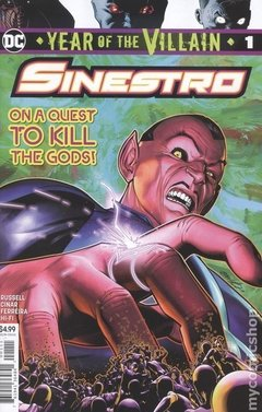 Sinestro Year Of The Villain (2019 DC) #1