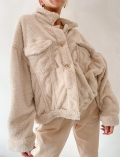 CAMPERA TEDDY OVERSIZE