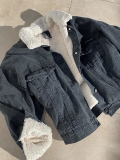 CAMPERA DENIM CORDERITO