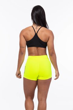 Shorts Power Amarelo Neon (blackout) - comprar online