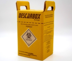 Caixa coletora para perfurocortante (DESCARBOX) Ecologic - 3 L.