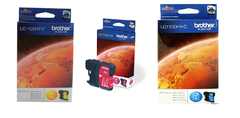 Cartuchos de tinta inkjet originales Brother LC1100HY (Delivery Pack 3 colores)