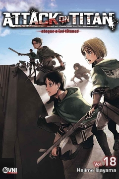 ATTACK ON TITAN VOL.18 (RE EDICION)