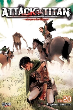 ATTACK ON TITAN VOL.20 (RE EDICION)