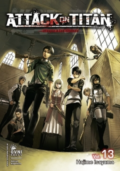 ATTACK ON TITAN VOL.13