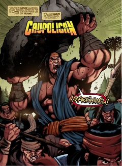 CAUPOLICÁN - CÓMIC CHILENO en internet