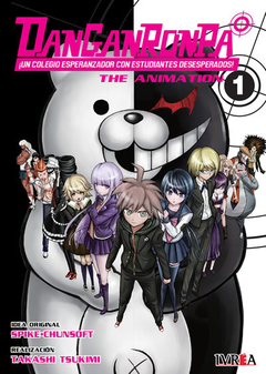 PRE VENTA DANGANRONPA THE ANIMATION 01 (REEDICIÓN)