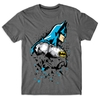 Remera Batman Glass  Talle XS
