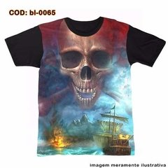 Camisetas Personalizadas , Estampa Digital Piratas