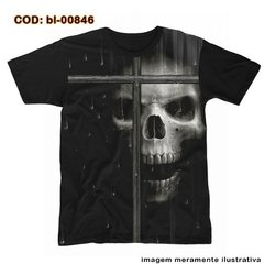 Camiseta Skull In Window