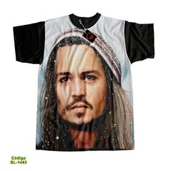 Camiseta  Unissex Johnny Depp