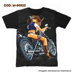 Camiseta Pirate Biker Girl