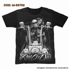 Camiseta Skull Choppers