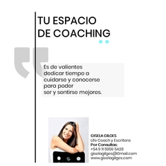 Pack 8. Sesiones individuales de Coaching - giselagilges