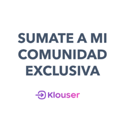 Comunidad exclusiva: KLOUSER en internet