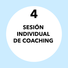 Pack 4. Sesiones individuales de Coaching - comprar online