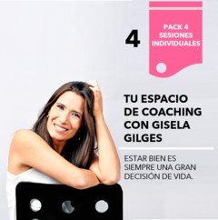 Pack 4. Sesiones individuales de Coaching