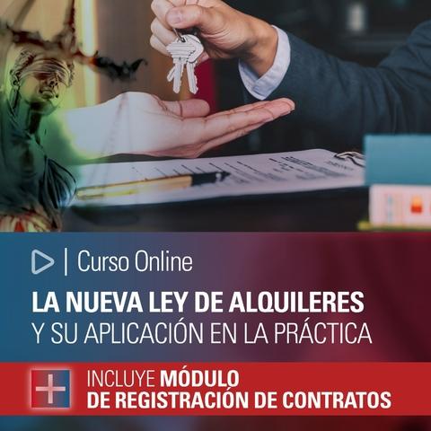 Curso Online La Nueva Ley De Alquileres Y Su Aplicacion En La Practica