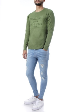 SWEATER CON RELIEVE (32881) - No End