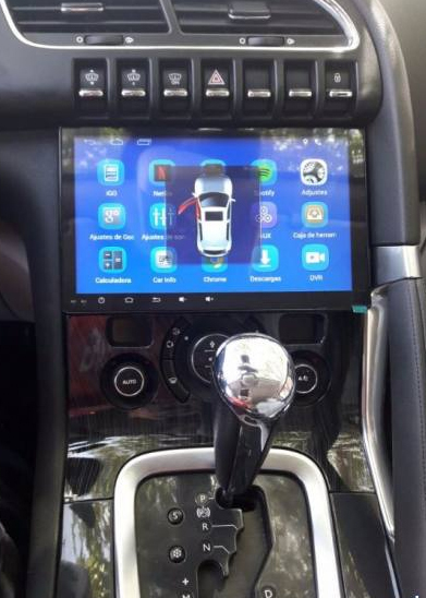 "Stereo Multimedia 9"" Peugeot 3008 / 5008 años 2013-2017 con GPS - WiFi - Mirror Link para Android/Iphone"