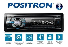 Stereo Positron Sp3305 Bt Cd-aux-bt-radio - Audio Trends