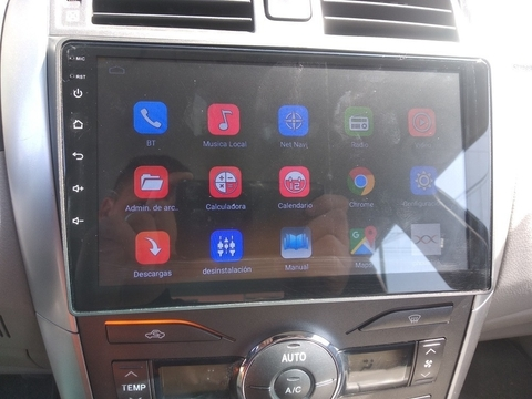 "Stereo Multimedia 9"" para Toyota Corolla 2008 al 2013 con GPS - WiFi - Mirror Link para Android/Iphone"