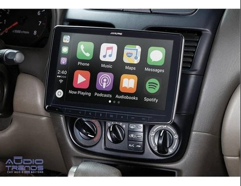 "Stereo Alpine ILX-F309 Halo 9"" con - Android Auto - Apple Car Play - Bluetooth - USB - HDMI"