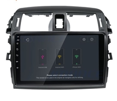 "Stereo Multimedia 9"" para Toyota Corolla 2008 al 2013 con GPS - WiFi - Mirror Link para Android/Iphone - Audio Trends"