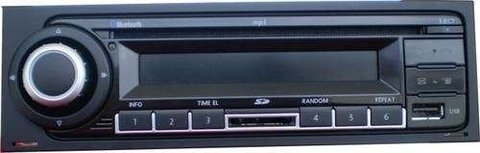 Stereo Volkswagen Bora - Golf - Suran - Fox - Gol Power / Trend con Bluetooth - USB - MP3