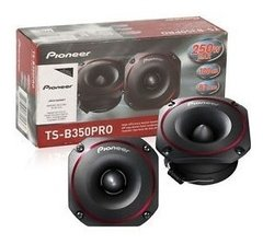 Juego De 2 Tweeter Pioneer Ts-b350 3,5 Pro 100 Watts Rms - Audio Trends