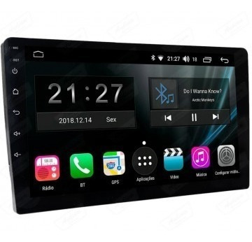 "Stereo Multimedia 7"" T3 Doble Din con Mirror Link para Android y iPhone - USB y Bluetooth"