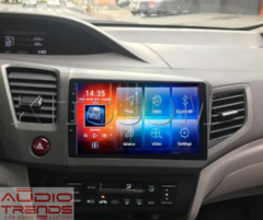 "Stereo Multimedia 9"" para Honda Civic 2012 al 2015 con GPS - WiFi - Mirror Link para Android/Iphone - Audio Trends"